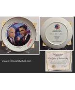 Obama McCain Collector Plate American Historical Society 2008 Debates  - $15.99