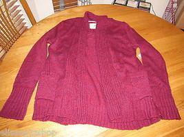 Element Juniors Womens M Long Sleeve Magenta Sweater surf  NWT*^ - $24.74
