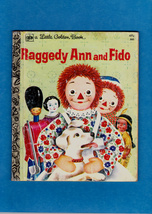 RAGGEDY ANN AND FIDO - A LITTLE GOLDEN BOOK 1976 - $8.00