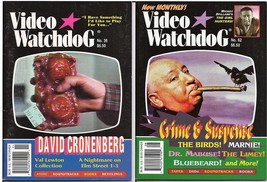 Video Watchdog Magazine Lot Issues #36 & 62 Alfred Hitchcock David Crone... - $9.95