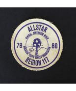 Vintage 79 80 ALLSTAR Huntington Beach Youth Soccer Printed Twill Sew On... - $8.42