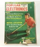 POPULAR ELECTRONICS Magazine September 1962•Directory of Short-Wave New... - $7.87
