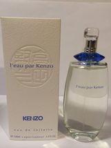 L' Eau Par Kenzo Eau De Toilette 3.4 Oz Spray For Women(Vintage) - $189.00