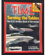 TIME Magazine • The US Strikes Back on Terrorism • October 21 1985 - $6.93