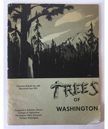 Vintage TREES OF WASHINGTON Extension Bulletin No. 440 Book WSU Agricult... - $11.83