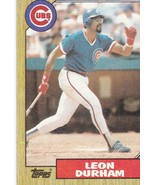 Baseball Cards- 1987 Topps Chicago Cubs 5 Card Lot - $3.00