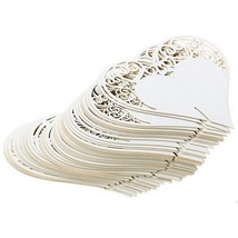 Table Decoration Place Cards Heart Floral Wine Glass Party Weeding Home ... - $7.72