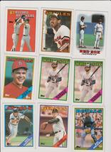 Lot of 104 1988 Topps Baseball Complete Your Set Henderson Pagnozzi+ EX-MT / NM - $12.99