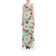 Pastel Woodland Flared Maxi Dress - $889,26 MXN+