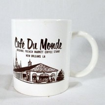 Cafe Du Monde New Orleans Coffee Mug French Mar... - $3.95