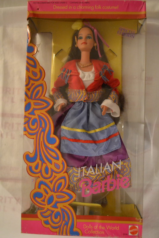Primary image for Italian Barbie-Special Edition-Dolls of the WorldCollection-1992,Mattel#2256-NEW