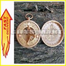 Brass Compass Dalvey Pocket Compass Brass Pocket Compass Brass Compass R... - $30.99