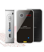 Wireless Bluetooth Laser Virtual Keyboard For Mobile Phone PC Laptop Tablet - £21.86 GBP