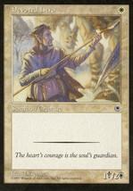 Magic: The Gathering: Portal - Devoted Hero - $0.25