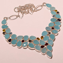 106 GRAM DREAMY BLUE CHALCEDONY & MULTI CUT GEM... - $46.75