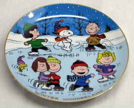 Danbury Mint Peanuts Magical Moment Winter Wond... - $54.40