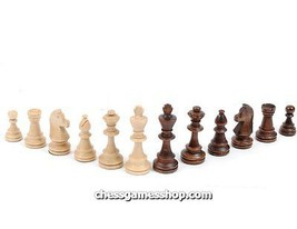 Tiournament Staunton Nr. 4 wooden chess pieces - $17.50