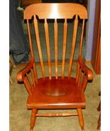Maple Andover Finish Rocker / Rocking Chair by Tell City  (RP-R79) - $499.00