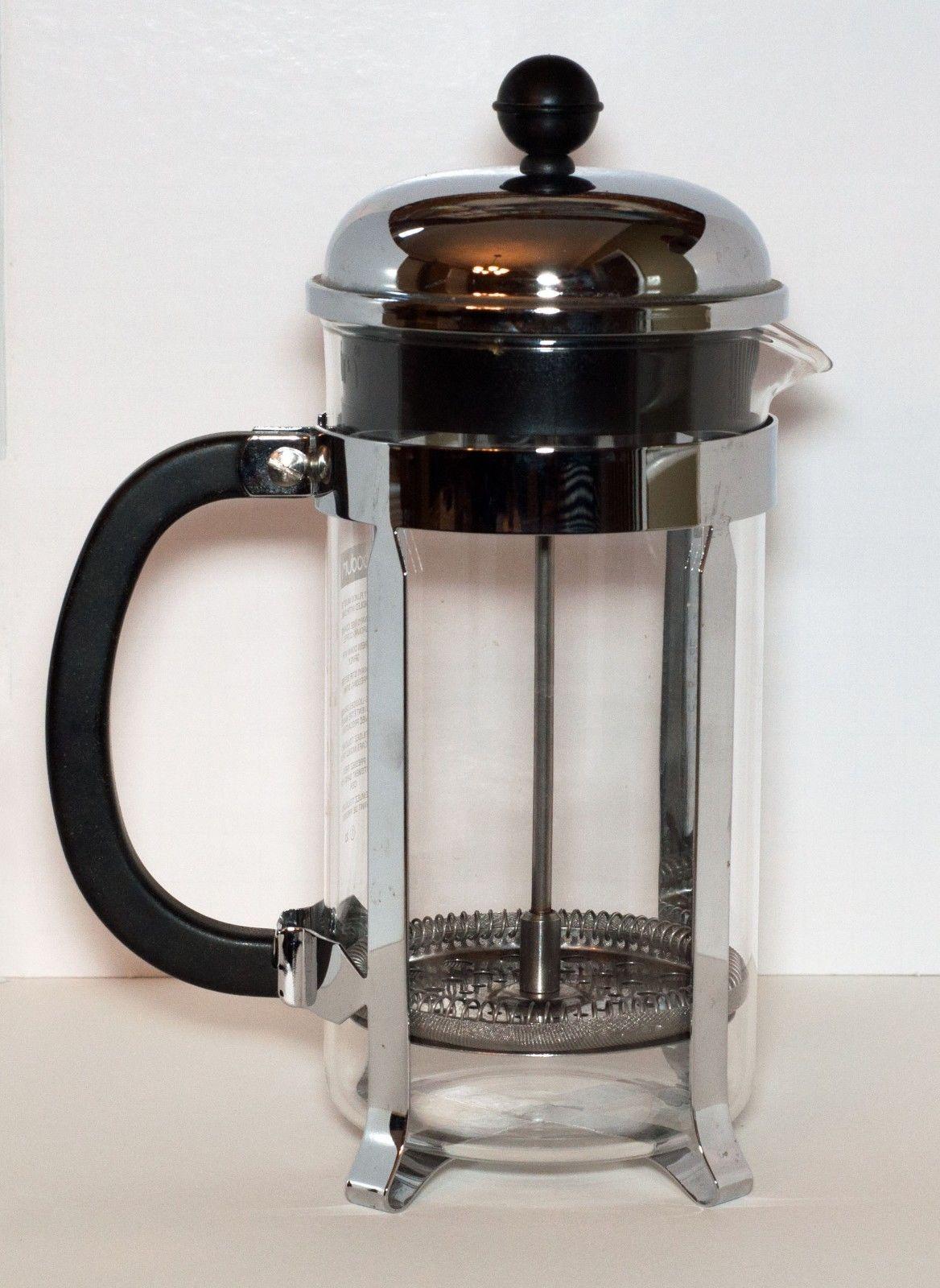 Bodum Coffee Maker Replacement Glass : Bodum Chambord French Press 4 Cup Coffee Maker - Glass - French Presses