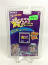 Singing Starz Video Karaoke Machine Cartridge Volume 3 New Jakks Pacific - $7.97