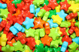 Neon Stars Candy 4125 Count, 5 Lbs - $23.74