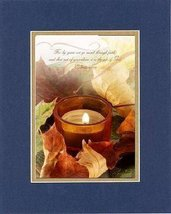For Inspiration - Fall Grace. . . 8 x 10 Inches Biblical/Religious Verses set... - $10.39