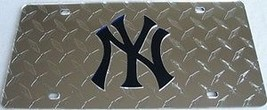 NEW YORK YANKEES DIAMOND MIRROR LASER MLB  BASE... - $47.02