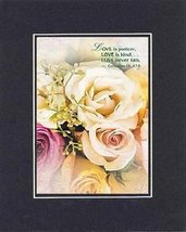 Love is patient, Love is kind, Love never ends . . . 8 x 10 Inches Biblical/R... - $10.39