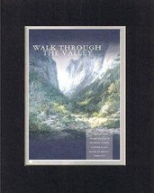 Walk Through the Valley - Psalm 23:4. . . 8 x 10 Inches Biblical/Religious Ve... - $10.39
