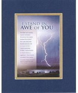 I Stand in Awe of You - Psalm 150:6. . . 8 x 10 Inches Biblical/Religiou... - $19.95