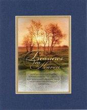 Treasures in Heaven - Matthew 6:20. . . 8 x 10 Inches Biblical/Religious Vers... - $10.39