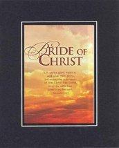 Bride of Christ - Revelatin 19:7 . . . 8 x 10 Inches Biblical/Religious Verse... - $10.39