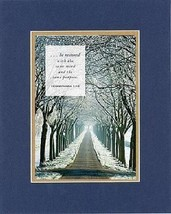 Be restored with same mind and the same purpose . . . 8 x 10 Inches Biblical/... - $10.39