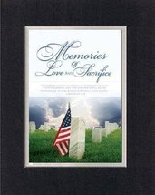 Memories of Love and Sacrifice - Jeremiash 4:2. . . 8 x 10 Inches Biblical/Re... - $10.39