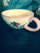 Ganz Pink Floral Coffee Mug - $7.70