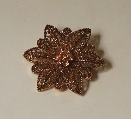 Star flower pin 2