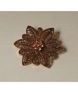 Filigree Star Flower Pin - $24.99