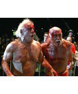 Hulk Hogan Ric Flair CTK Vintage 11X14 Color Wrestling Memorabilia Photo - $14.95