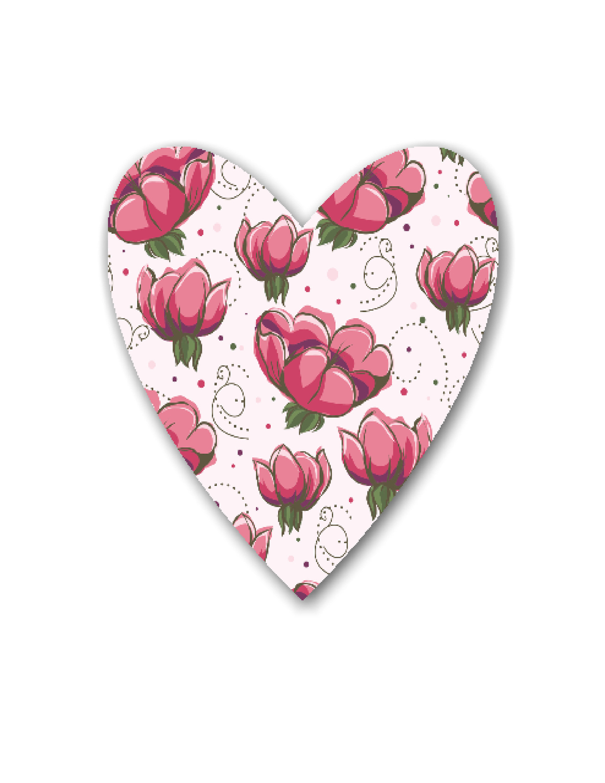 10 Flowers and Outdoor Hearts-Digital Clipart