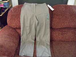 Liz Claiborne Black & White Villager Pants Size 10 Women's NEW LAST ONE  - $44.99