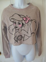 Disney Little Mermaid Sweatshirt Women's New - $35.14