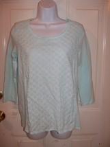 Gap Light Blue Long Sleeve Shirt Size Xs Women's New Last One - $39.99