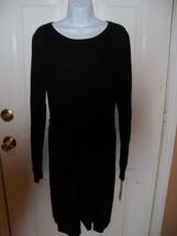 Liz Lange Maternity Black Sweater Dress Size XL Women's NEW LAST ONE  - $49.99