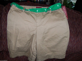 Merona Bonjour Brown Bermuda Shorts Size 6 Women's NEW LAST ONE  - $37.99