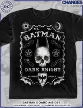 Batman Ouija Board Crazy DC COMICS Héroe Superhéroe Héroes Negro Camiseta S-3XL - $22.99
