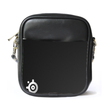 Sling Bag Leather Shoulder Bag SteelSeries Dark Logo Manufacturer Of Gaming Peri - $14.00