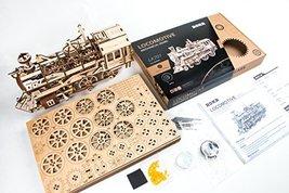 DIY 3D Wooden Puzzle Laser-Cut Mechanical Wind-Up Puzzle Model Kit, Premium Qual image 2