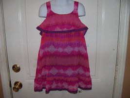 George Tribal Chiffon Blouse Size M ( 7/8) Girl's NEW LAST ONE  - $29.99