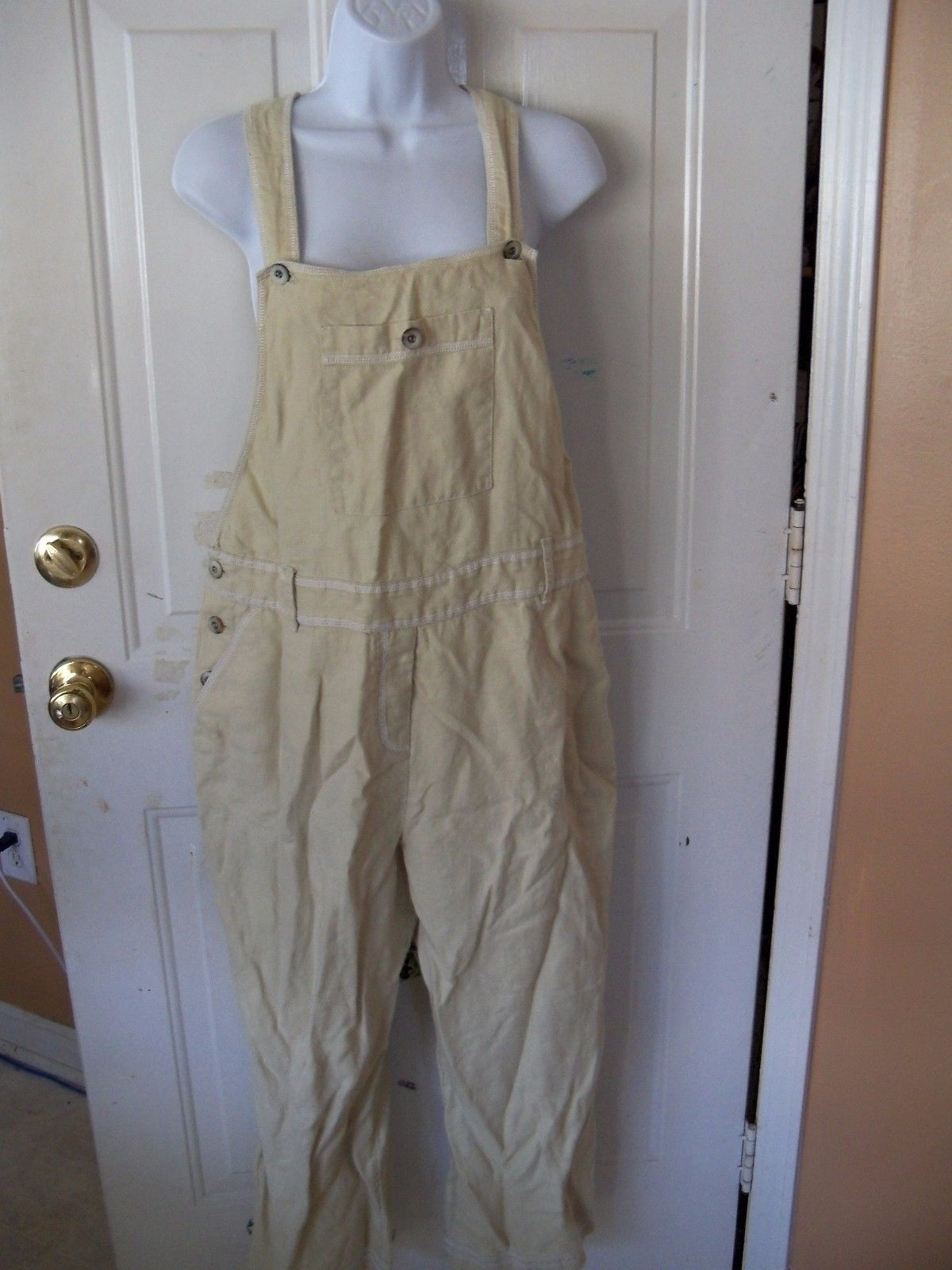 41e76c420b5e J Jill Linen Overalls Embroidery Stitching and 50 similar items. S l1600