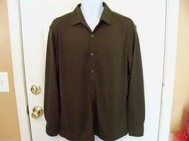 George Olive Night Dress Shirt Size Medium (38-40) MEN'S NEW LAST ONE  - $39.99
